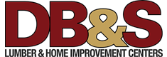 Logo db and s lumber