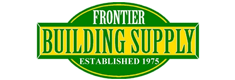 Logo frontier building supply