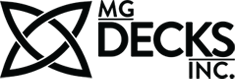 Logo mg decks inc