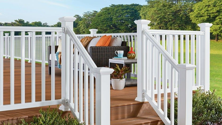 ArmorGuard Railing | Fiberon composite deck railing stocked