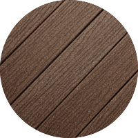 Traditional Decking Vintage Brown Color