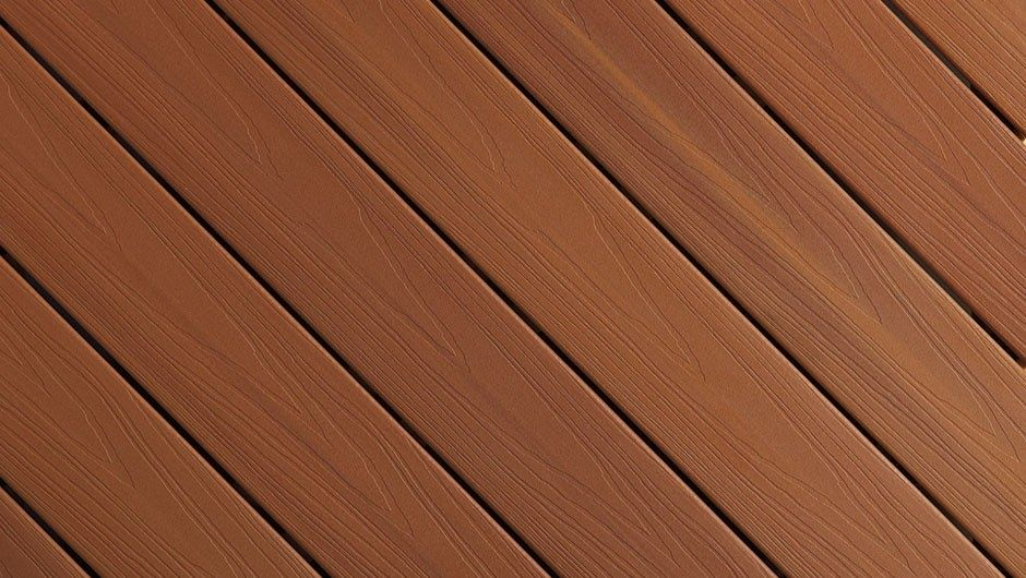 Coastal Cedar Color Streaking