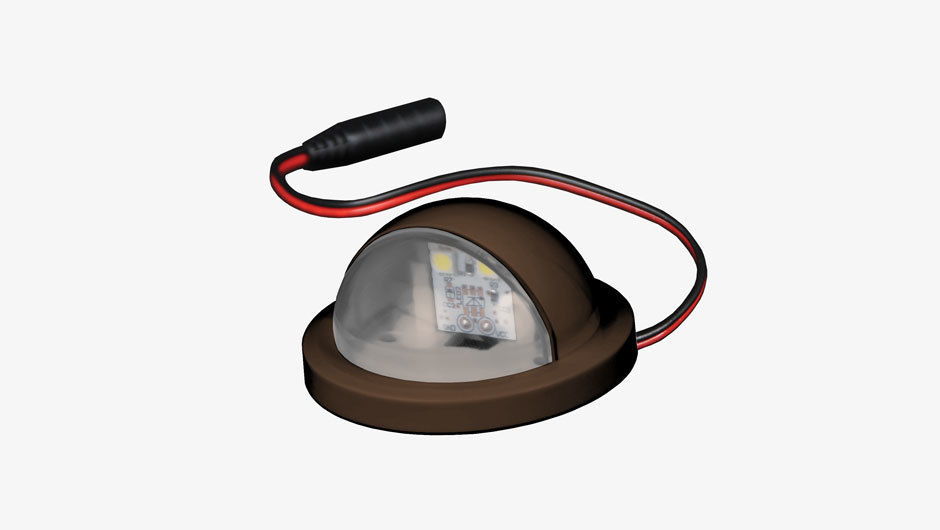 Dome side light brown