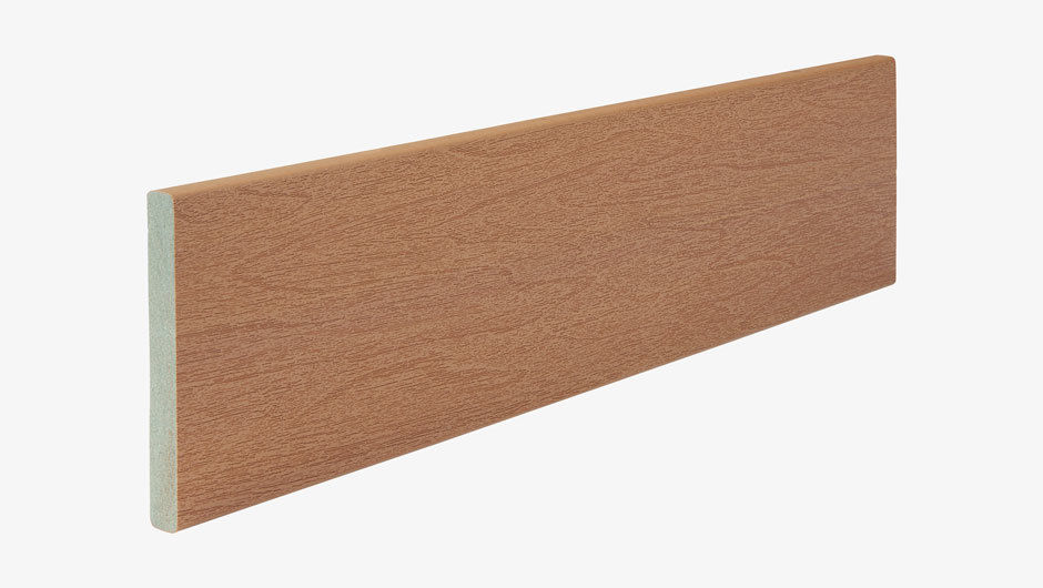 Sapele open joint cladding profile