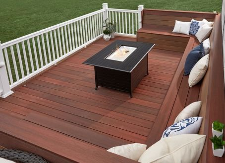 Symmetry Decking Cinnabar
